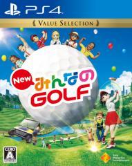 【新品】 New みんなのGOLF Value Selection PS4 / 新品 ゲーム