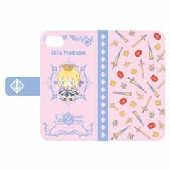 フェイト グランドオーダー Design produced by Sanrio 手帳型iPhoneケース (6,6s,7,8対応) アルトリア・ペンドラゴン 〔 グッズ 〕