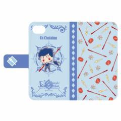 フェイト グランドオーダー Design produced by Sanrio 手帳型iPhoneケース (6,6s,7,8対応) クー・フーリン 〔 グッズ 〕