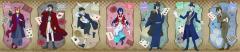文豪ストレイドッグス DEAD APPLE × PRINCESS CAFE 7連ポストカード 〔 グッズ 〕