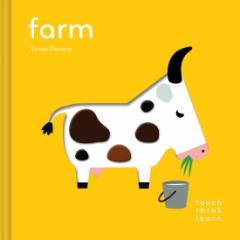 【英語の絵本】 タッチ・シンク・ラーニング ファーム Touch Think Learn Farm 指でさわって 考えて 学ぶ 新感覚 知育おもちゃ クロニク