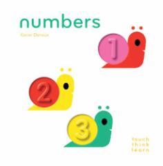 【英語の絵本】 タッチ・シンク・ラーニング ナンバーズ Touch Think Learn Numbers 指でさわって 考えて 学ぶ 新感覚 知育おもちゃ クロ