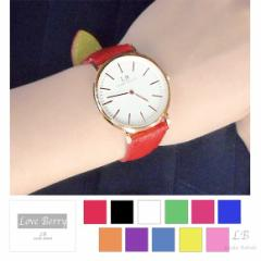 レディース 時計 腕時計 おしゃれ ウォッチ ゴールド シンプル きれいめ 大人シンプル Love Berryオリジナル