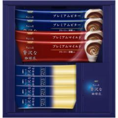 内祝い お返し ギフト お礼 コーヒー・紅茶 AGF ちょっと贅沢な珈琲店スティックコーヒーFST-5N プチ新築 お礼 引越し 志 仏事 クーポン