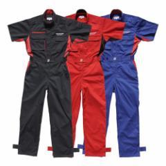 BRIDGESTONE モータースポーツ サマーピットクルースーツ【半袖つなぎ/ツナギ】