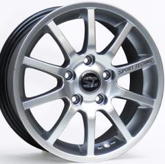 【BMW MINI(F55/F56)用tw】SPORT TECHNIC MONO10 VISION Eu2 6.5J-16 と GOODYEAR EAGLE LS2000 Hybrid2 195/55R16 の4本セット