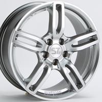 【BMW MINI(F55/F56)用tw】SPORT TECHNIC MONO5 VISION 6.5J-16 と GOODYEAR EAGLE LS2000 Hybrid2 195/55R16 の4本セット