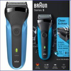 髭剃り 電気シェーバー 男性用 メンズシェーバー 電動ひげそり ひげ剃り ブラウン Braun シリーズ3 充電式