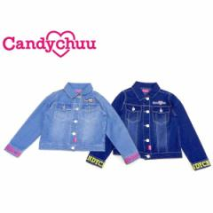 Candychuu キャンディチュウ キャンディチュー 子供服 19春夏 デニムGジャン ca209602
