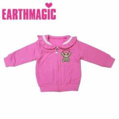 EARTHMAGIC アースマジック 子供服 18秋冬 セーラーカラーミニ裏毛パーカー  ea38332151