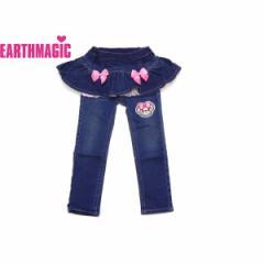 EARTHMAGIC アースマジック 子供服 18秋冬 スカート付きスキニーパンツ  ea38353195