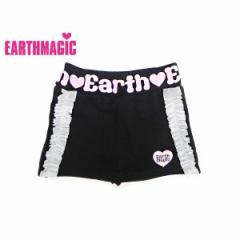 EARTHMAGIC アースマジック 子供服 18秋冬 ストレッチミニ裏毛パンツ付きスカート  ea38353197