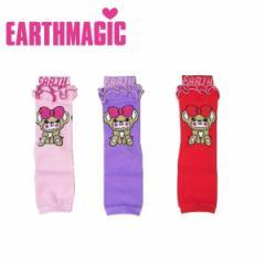 EARTHMAGIC アースマジック 子供服 18秋冬 ぽんぽんしっぽBABYレッグウォーマー  ea38382333