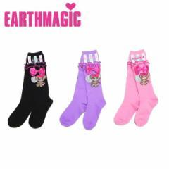 EARTHMAGIC アースマジック 子供服 18秋冬 Candyマフィーハイソックス ea38382341