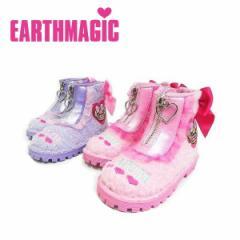 EARTHMAGIC アースマジック 子供服 18秋冬 ファーショートブーツ ea38390355