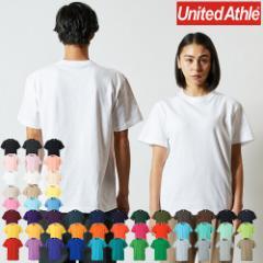 Tシャツ 半袖 無地 メンズ レディース ユナイテッドアスレ T-shirt 伸びない 透けない 衣装 5.6オンス 5001