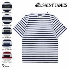 セントジェームス SAINT JAMES Tシャツ 半袖 ボーダー メンズ レディース