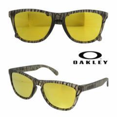 オークリー Oakley サングラス アジアンフィット Frogskins フロッグスキン Asian Fitト OO9245-24 マットセピア メンズ レディース