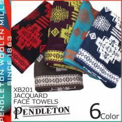 ペンドルトン PENDLETON タオル フェイスタオル ハンドタオル ジャガード XB201 JACQUARD FACE TOWELS メンズ レディース