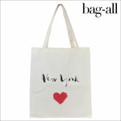 Bag-all バッグオール バッグ トートバッグ エコバッグ NEW YORK HEART TOTE レディース