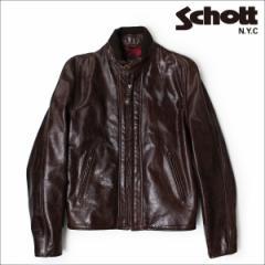 ショット Schott ライダースジャケット ジャケット レザージャケット LEATHER JACKET 588 ANT メンズ