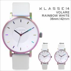 KLASSE14 36mm 42mm メンズ レディース 腕時計 クラス14 VOLARE RAINBOW WHITE ヴォラーレ VO16TI003M VO16TI003W