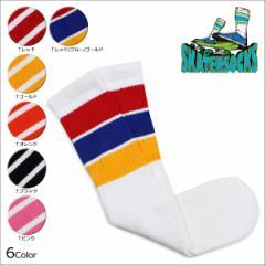 スケーター ソックス Skater Socks チューブソックス 19インチ 靴下 19 INCH MID-CALF STRIPED TUBE SOCKS メンズ レディース [4/19 追加