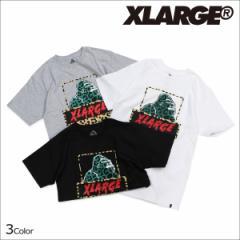 エクストララージ XLARGE Tシャツ メンズ 半袖 トップス クルーネック ANAMALIA SS TEE 3カラー