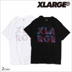 エクストララージ XLARGE Tシャツ メンズ 半袖 トップス クルーネック PUNCHCARD S/S T-SHIRT 2カラー