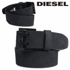 ディーゼル ベルト DIESEL メンズ バックル レザーベルト 本革 牛革 カジュアル ヴィンテージ BIT X03714 PR047 ブラック