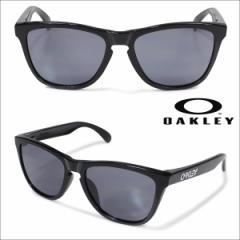 オークリー Oakley サングラス アジアンフィット Frogskins フロッグスキン ASIA FIT OO9245-01 ブラック メンズ レディース