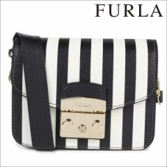 フルラ FURLA バッグ ショルダーバッグ レディース ブラック METROPOLIS 885780