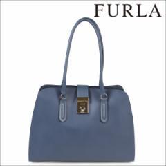 FURLA フルラ バッグトートバッグ レディース ブルー BKV9 MILANO PEGGY M TOTE 886554