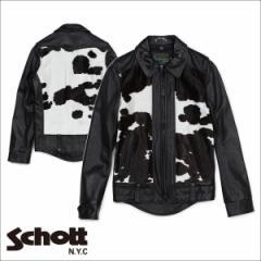 ショット Schott ライダースジャケット ジャケット レザージャケット メンズ EL CAMINO 50S WEST COAST BIKER JACKET ブラック P6422