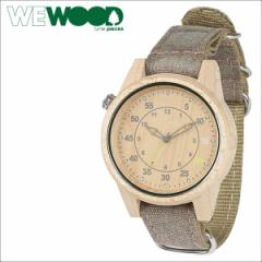 WEWOOD 腕時計 ウィーウッド メンズ レディース DUHBE BEIGE CHOCO WDUCHB グレー