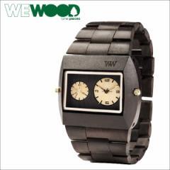 WEWOOD 腕時計 ウィーウッド メンズ レディース JUPITER BLACK GOLD TL WSBGTL ブラック
