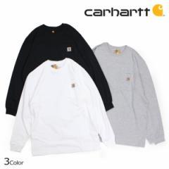 カーハート carhartt Tシャツ メンズ 長袖 ロンT WORKER POCKET LS T-SHIRTS K126 [4/19 追加入荷]