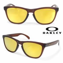 オークリー Oakley サングラス アジアンフィット Frogskins フロッグスキン ASIA FIT メンズ レディース ブラウン OO9245-04