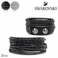 スワロフスキー SWAROVSKI ブレスレット スレイク レディース SLAKE ブラック グレー 1179237 1179236