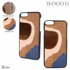 Wood'd ウッド iPhone8 iPhone7 6s ケース スマホ アイフォン ITALY INLAY 木製 メンズ レディース