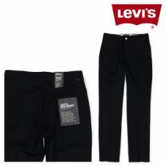 リーバイス 502 LEVIS スタプレ メンズ ストレッチ パンツ STA-PREST ブラック 47959-0004