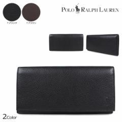 ポロ ラルフローレン 財布 メンズ POLO RALPH LAUREN 長財布 ブラック ブラウン 405526201 [8/21 追加入荷]
