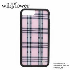 wildflower ケース スマホ iPhone8 X ワイルドフラワー iPhone ケース 7 6s 6 アイフォン レディース ハンドメイド ピンク