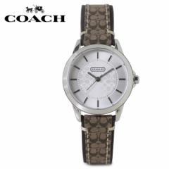 コーチ COACH 腕時計 レディース シグネチャー レザー ブラウン 14501525