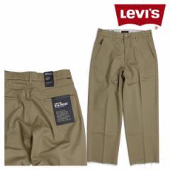 リーバイス LEVIS スタプレ メンズ ワイド パンツ STA-PREST WIDE LEG CROP ベージュ 47873-0000
