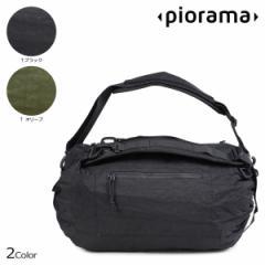 PIORAMA ピオラマ A10 バッグ ショルダーバッグ バックパック ボストン 31L 46.5L 62L THE ADIUSTABLE BAG メンズ レディース ブラック