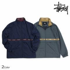 ステューシー STUSSY ジャケット メンズ トラックジャケット LEWIS TRACK JACKET グレー ネイビー 115377