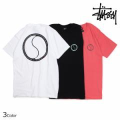 ステューシー STUSSY Tシャツ メンズ 半袖 S DOT TEE ブラック ホワイト ピンク 1904194