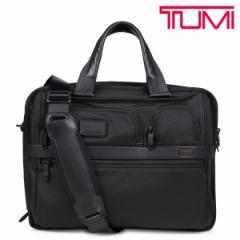 TUMI トゥミ ビジネス バッグ メンズ ALPHA2 ブリーフケース T-PASS EXPANDABLE LAPTOP BRIEF ブラック 26145D2