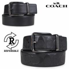コーチ COACH ベルト リバーシブル メンズ レザー ブラック F55157 [4/19 再入荷]